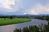 Macleay River storm