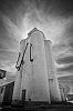 Grain Elevator and Clouds - Haxtun, CO