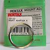 Genuine Pentax Mount Adapter m42 to K (orig. pkg) REDUCED!