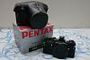 Black Pentax ME Super CLA'd w/ leather case