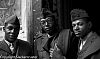 3 Black Soldiers L.A. 1970's