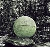 orb in the woods..