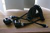 2 each: Genuine Pentax Hot Shoe Adapter F and F5P sync cord for off-camera flash