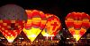Balloon Glow from Saturday night at Memorial Park in Colorado Springs