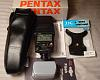 Excellent Condition Pentax AF360FGZ Flash with Flash Stand and Diffuser 150 with S/H