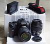 Like-new K-r with 2 lenses DA-L18-55 & DA 50-200
