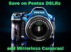 Black Friday: Save on all Pentax DSLRs and ILCs!