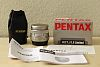 Silver Pentax FA 77mm limited, MINT