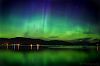Aurora over Shuswap Lake