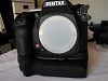 Pentax K-5 IIs body (1855 shutter count) without grip and remote