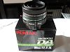 Pentax SMC 35mm DA F2.4 AL Lens with Metal Hood and cap