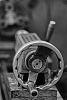 Scarce Spiratone 85mm f1.8 (aperture stuck wide open: DOF monster)
