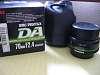 Da 50mm f/1.8 and DA 70mm
