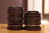 Russian lens set - Jupiter 9, Helios 44, Zenitar 16, Vario-zenitar 25-45