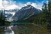 scenery north of Banff