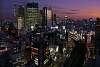 Tokyo evening light
