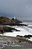 Stormy day in Mumbles nr. Swansea South Wales UK.