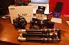 Pentax k50 bundle w/SMC DAL 18-55 WR, CustomSLR Mplate/cloop/strap, Mefoto, accrs