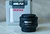 Pentax FA 50mm f1.4