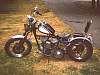 my 1942 Harley Chopper