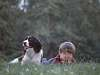 Nuther scan of Ryan and Annie, from years ago