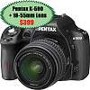 Pentax K-500 $399, K-50 $499 w/ $50 gift card