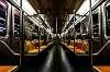 Empty wagon at NYC Subway