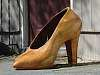 High Heel Shoe, Carved wooden, Ephrata, WA