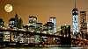 Brooklyn Bridge Night Scene