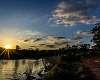 Sunset at Draper Lake