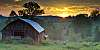 Barn and Sunrise