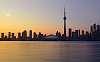 Toronto at Sunset