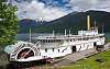 SS Moyie the oldest intact wooden paddlewheeler boat in the world built in 1898
