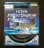 55mm Hoya Pro 1 Digital UV filter