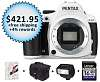 Pentax K-50: $421.95 at Adorama (special coupon code thru 6/30)