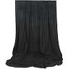 Impact 10x24' black muslin backdrop