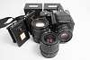 Pentax 645 Original, 3 backs, 55mm F2.8, 75mm F2.8 and 150mm F3.5