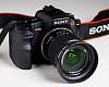 Sony A200 DSLR camera w/ 18-70mm lens - Like new, <500 actuations
