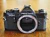 Gorgeous Black Pentax MX, Just CLA'd