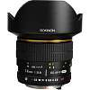 Rokinon 14mm: $299, Bower 35mm F1.4: $329