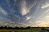 Pylons and skies