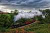 Steam train in the UK