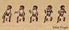 5 little dancing monkeys
