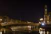 Nightime on the Arno River