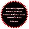 Unlimited Attachments & Marketplace Access Cyber Monday Week Special (Ends 12/7)