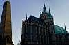 Erfurt Obelisk and Cathedral