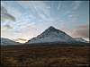 Beuchaille Etive Moor at sunset