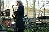 Manhattan saxophone II. Bryant Park.