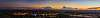 Twilight Pilbara panorama