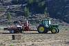Baling Tractor